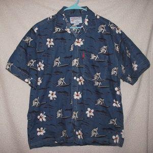 Beach Ray Mens Hawaiian Shirt